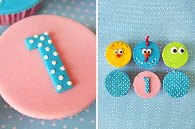 """Cupcakes """"Galinha Pintadinha"""""""
