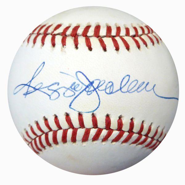 Reggie Jackson Autographed Official AL Baseball Yankees, A's Beckett BAS #B62146