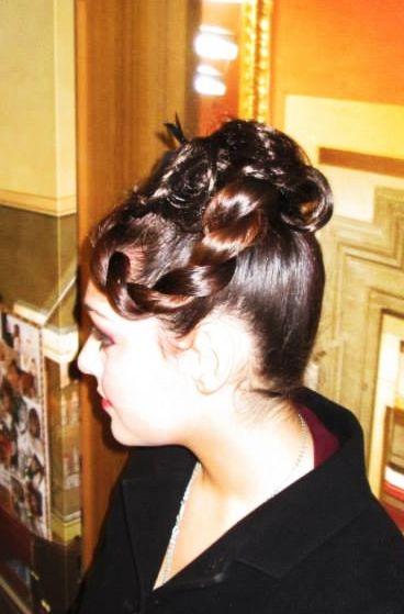 #capelli #acconciatura #elegante #treccia #montanucciAcconciatori Style  http://www.duostylist.it/