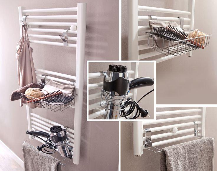 24 best Étagères sdb images on Pinterest Shelves, Bathroom and - meuble salle de bain fer forge
