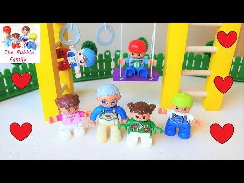 Lego Duplo mini movie. Grandpa has a fun day with his grandkids!