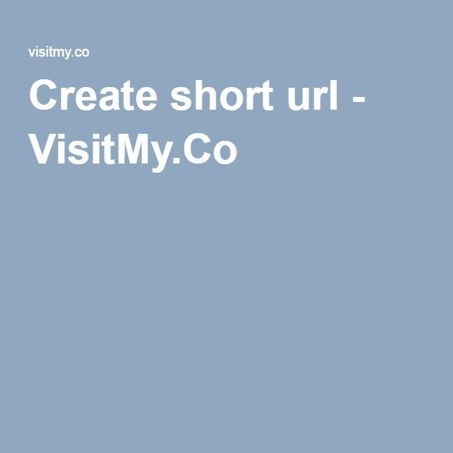 Create short url - VisitMy.Co