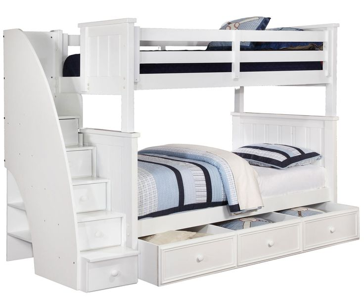 20 Full Bunk Beds With Stairs