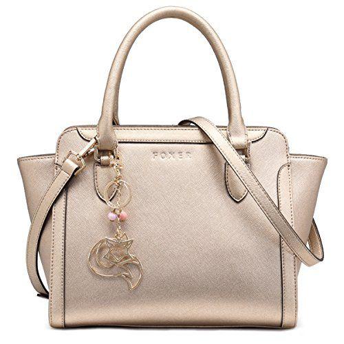 fe9d4be2783a Women Handbag Leather Purse Top Handle Tote Shoulder Bag on ...