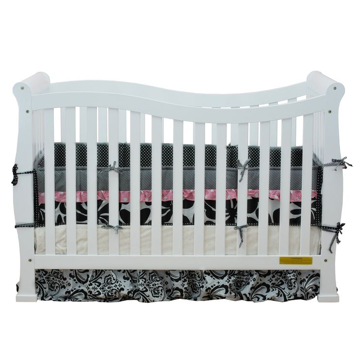 AFG Baby Furniture Mikaila Zoe 3-in-1 Convertible Crib