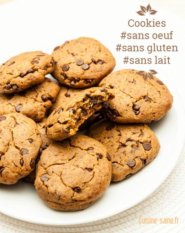Cookies : graine de lin, lait riz, huile coco, farine (recette bof, moelleuse mais pas croustillante)
