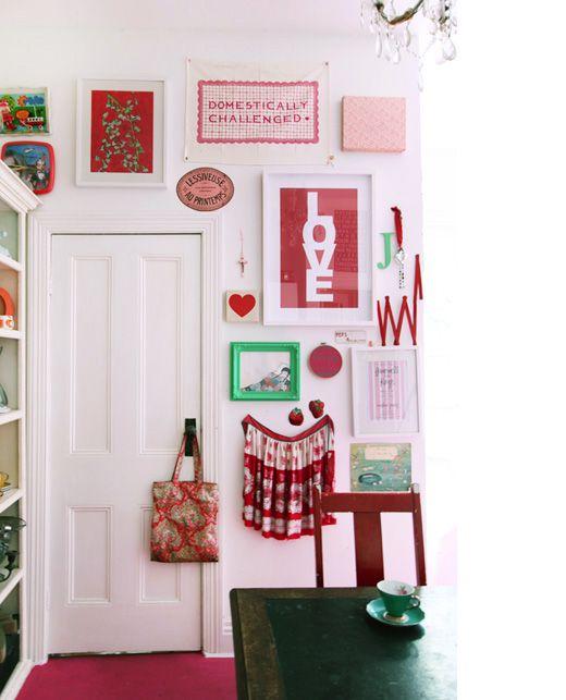 Kitchen of Heather Nette King, interiors stylist, in Armadale, Melbourne.  Via Design Files