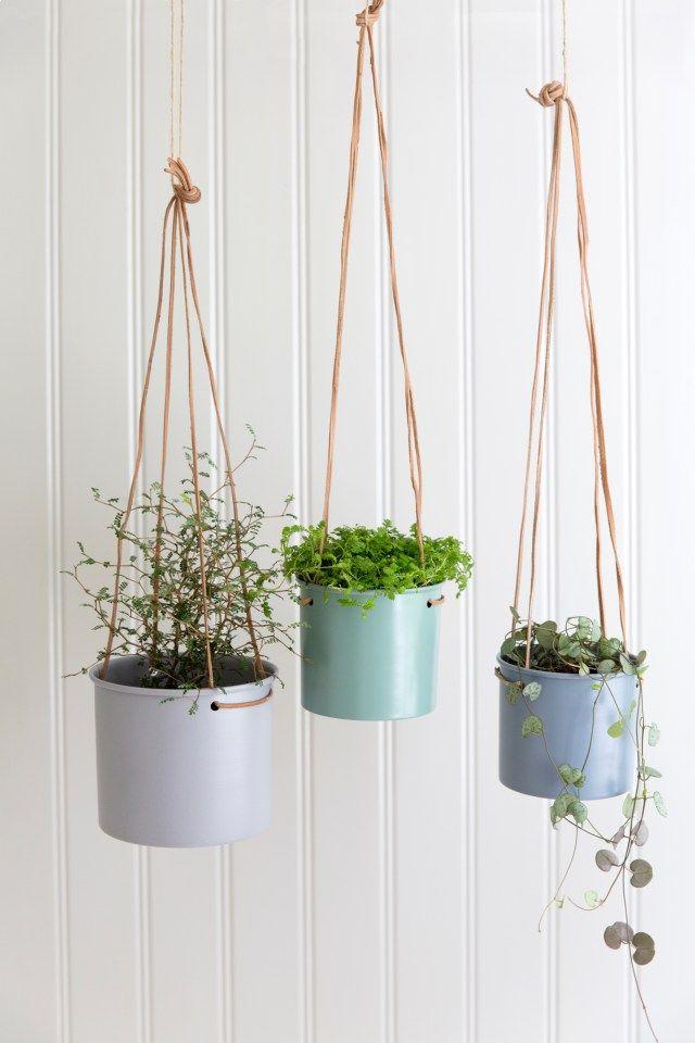 Strömshaga, Stromshaga, interior, inredning, swedish design, scandinavian interior, pots, krukor, ampel, amplar, hanging pots