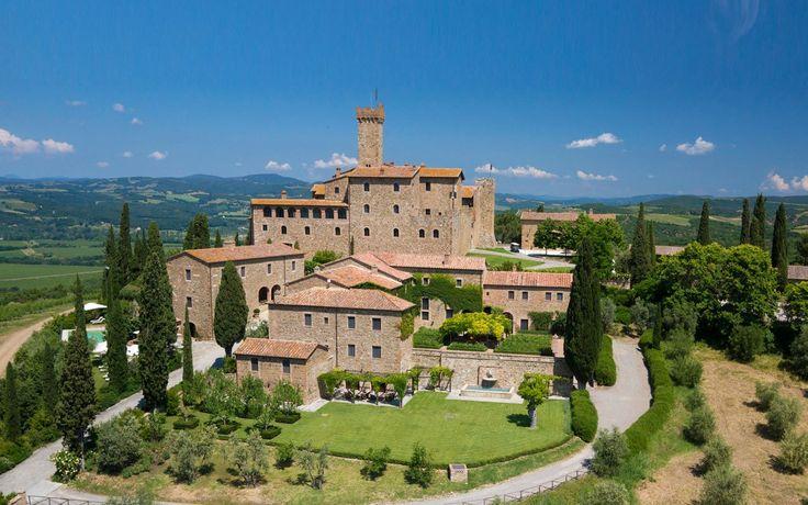 Castello Banfi il Borgo, Tucsany