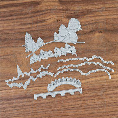 Buy Tattered lace Panorama Embellishment Collection from Create and Craft USA.tv