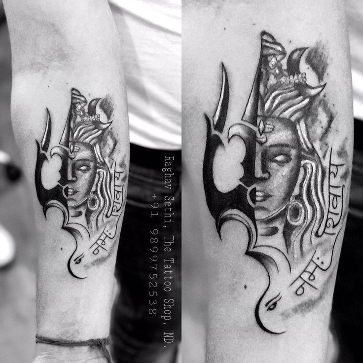 the 25 best bholenath tattoo ideas on pinterest mahakal shiva om trishul tattoo and shiva. Black Bedroom Furniture Sets. Home Design Ideas