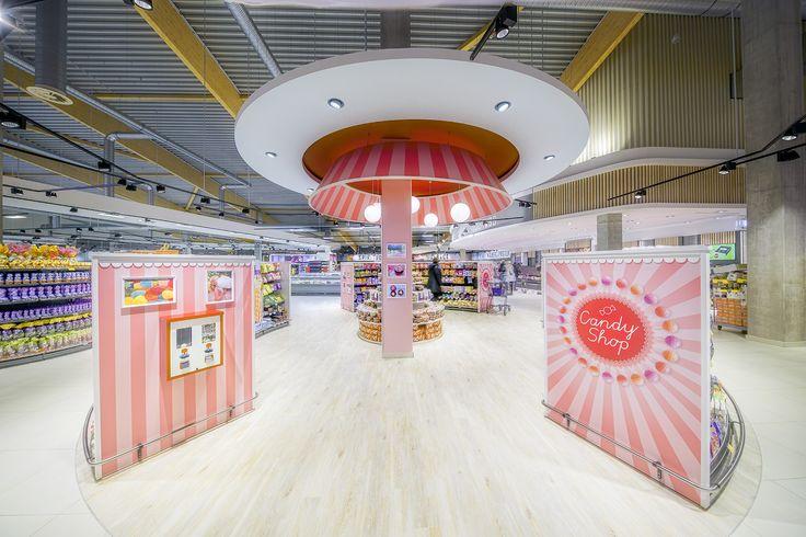 Klaas + Kock, Rheine Flagshipstore (Germany) #food #light #retail #beleuchtung #licht