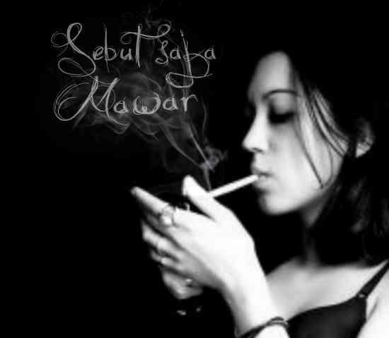 Cara edit foto membuat tulisan di asap rokok