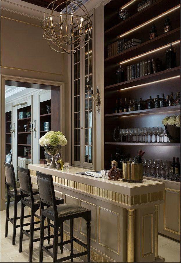 13 Lustrous Kitchen Lighting Ideas To Illuminate Your Home Pendant Oversink Overtable Track Diy Le Modern Home Bar Designs Modern Home Bar Home Bar Decor
