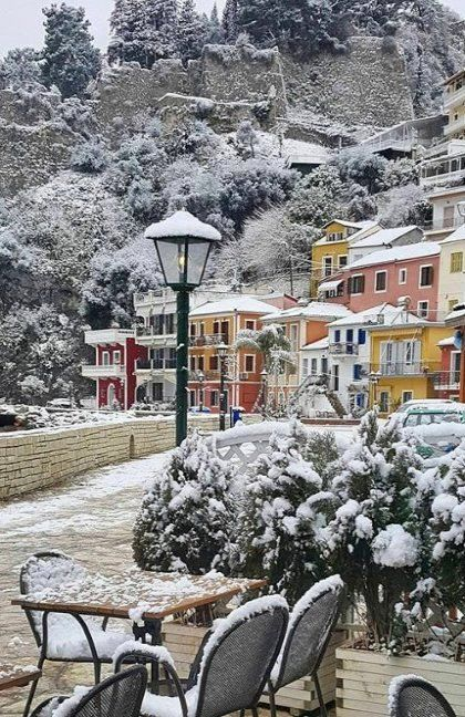 Parga is beautiful.. and the winter, Epirus, Greece | by @zaza_tousis