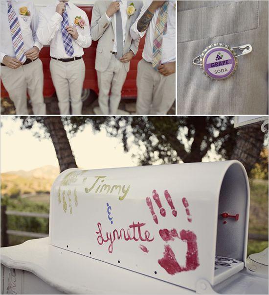 wedding letterbox