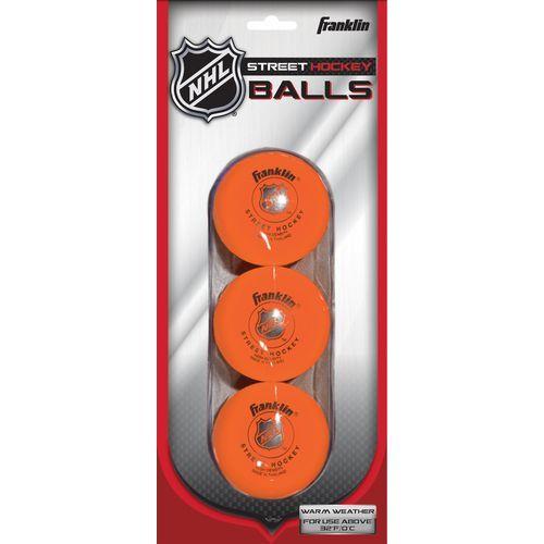 Franklin High-Density Street Hockey Balls 3-Pack - Hockey at Academy Sports