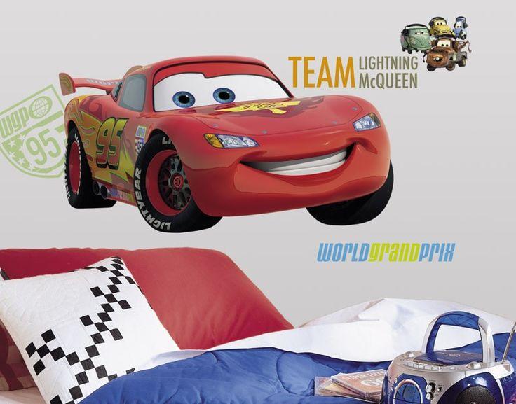 Wandtattoo wandsticker disney pixar cars gigant 1 5m reuniecollegenoetsele - Cars wandsticker ...