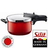 Silit Sicomatic® t-plus Schnellkochtopf 3l ohne Einsatz Ø 22cm rot Energy Red Made in Germany Innenskalierung Silargan® Funktionskeramik induktionsgeeignet Nr 2120263289