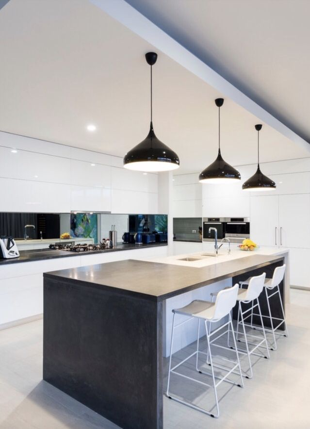 Contemporary Kitchen Design Open Plan Kitchen House