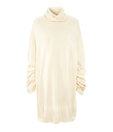 Love this oversized cashmere knitwear by Martin Margiela for Hennes & Mauritz.