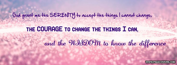Inspirational Quote Wallpaper For Computer Serenity Prayer Facebook Cover Pagecovers Com Cover
