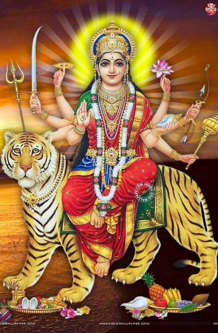 Pin by Birju Dhakar on hindu god imegas Durga goddess