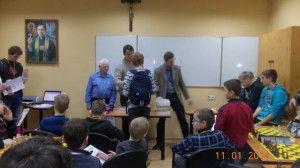 I Turniej Szachowy Młodzieżowe Grand Prix, Wałbrzych, 11.01.2014