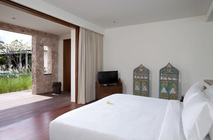 Villa Satria, Seminyak, Bali. Walking distance of Petitenget Beach and Seminyak's famous restaurants, boutiques and nightlife, the fully staffed Villa Satria presents five bedrooms and a 17-metre pool.