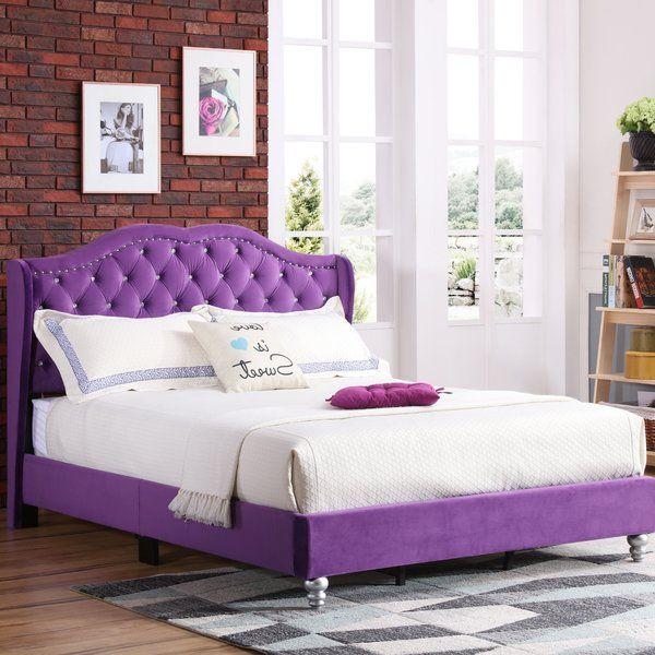 Colbourne Upholstered Standard Bed Upholstered Panel Bed