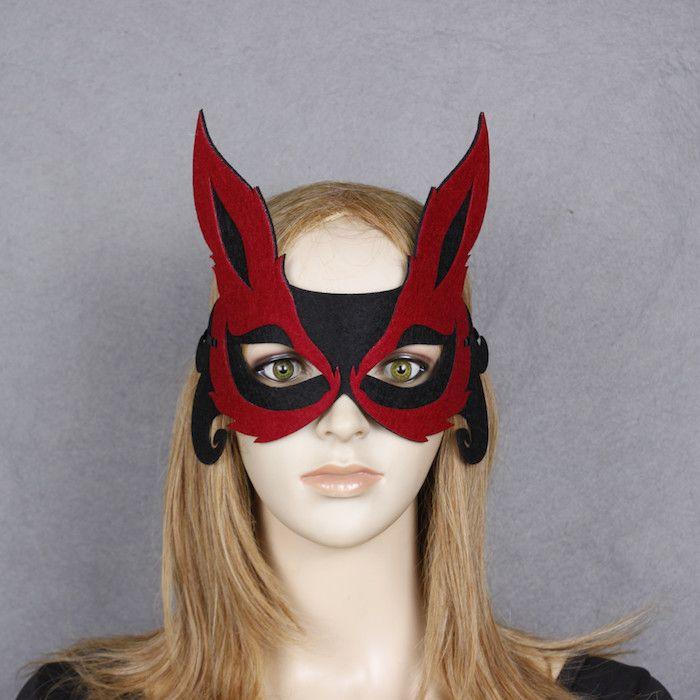 die besten 25 fuchsmaske ideen auf pinterest fuchs maske zorro kost m und zorro kost m. Black Bedroom Furniture Sets. Home Design Ideas