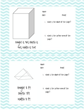 1000 Images About Volume And Surface Area Lessons On border=