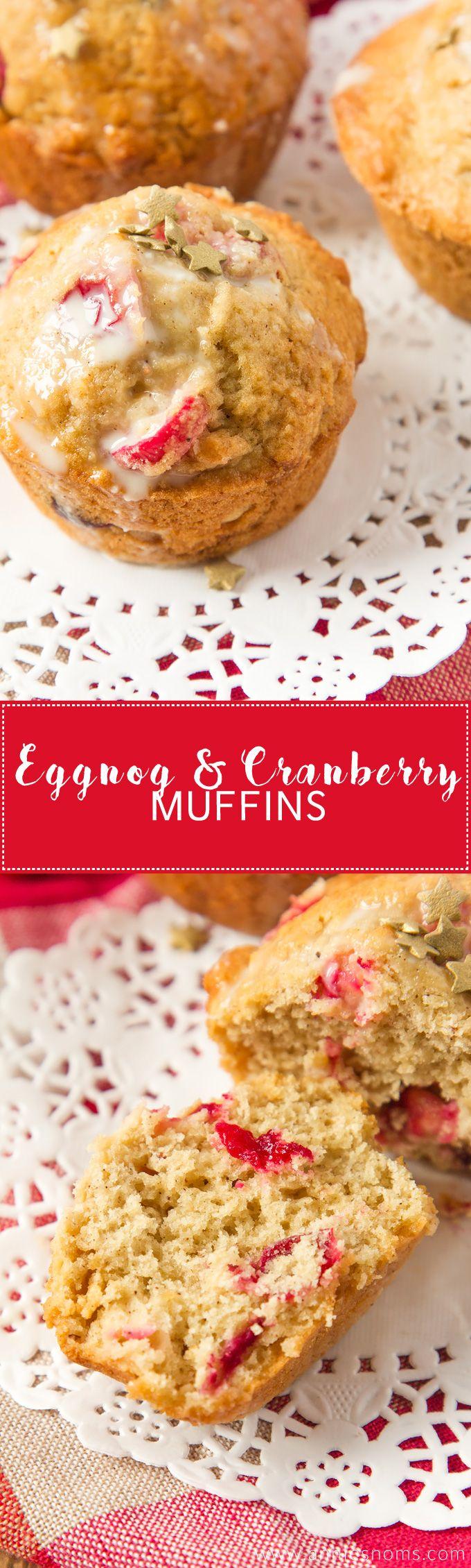 ... Eggnog, fresh cranberries and plenty of nutmeg to create the perfect