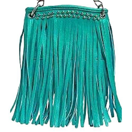New Trending Bumbags: The Chic Bag - Boho Chic 4-way Bag - Fringe with Studded Border (Mint; 6x8x1in) - BUY 2 GET A 3rd BAG FREE!. The Chic Bag – Boho Chic 4-way Bag – Fringe with Studded Border (Mint; 6x8x1in) – BUY 2 GET A 3rd BAG FREE!  Special Offer: $39.95  444 Reviews The Chic Bag designs and manufactures innovative cross-body designer handbags releasing new and exciting styles every season...