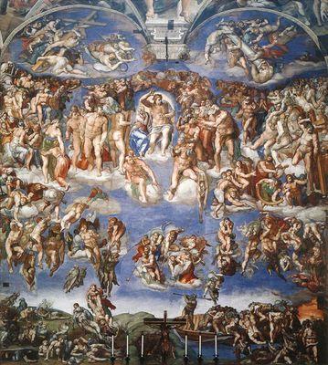Michel-Ange (1475-1564) - Le jugement dernier