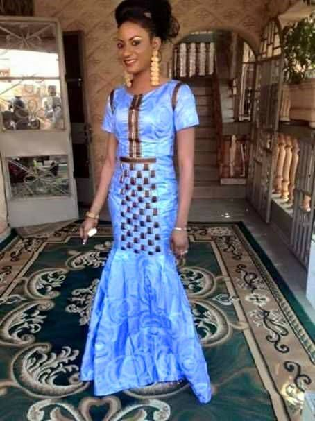 Jupe africaine African Clothing Turquoise par AfricanModernFashio