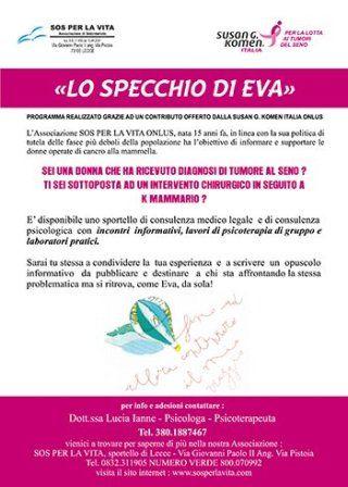 A Lecce Lo specchio di Eva incontri in rosa