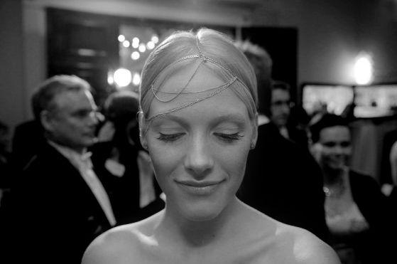 Head piece for actress Laura Birn B A C K L I N E: tammikuu 2013