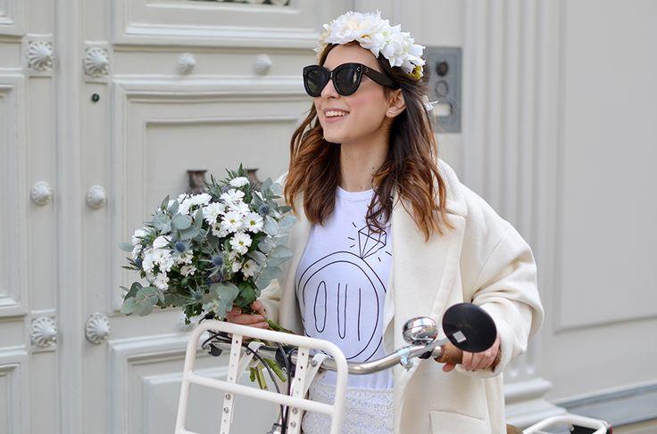 http://www.helloitsvalentine.fr/0232267/white-wedding/ - White everywhere and my CATY Céline Sunglasses