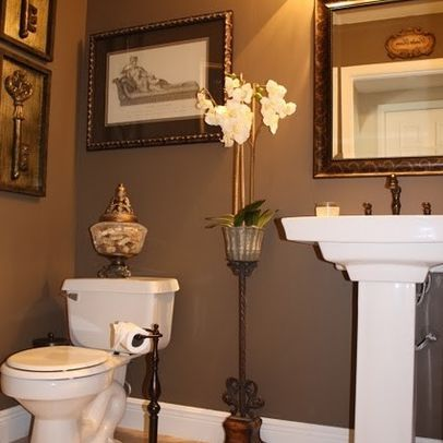 221 best Bathroom Decor\/Storage Ideas images on Pinterest - guest bathroom decorating ideas