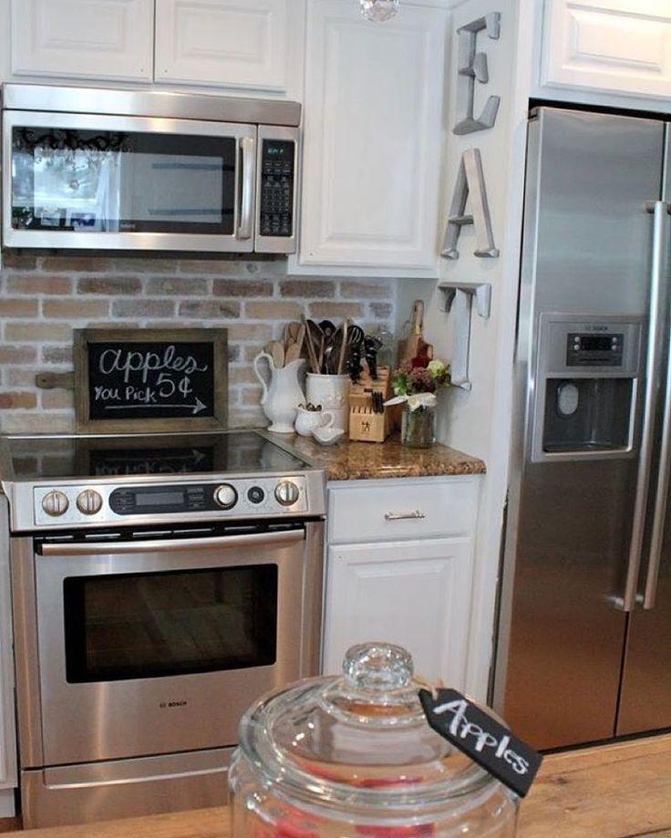 Best 25 Whitewash Kitchen Cabinets Ideas On Pinterest: Best 25+ Whitewash Brick Backsplash Ideas On Pinterest