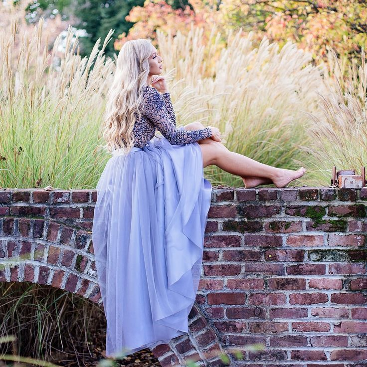 Maxi tulle skirt by Bliss Tulle
