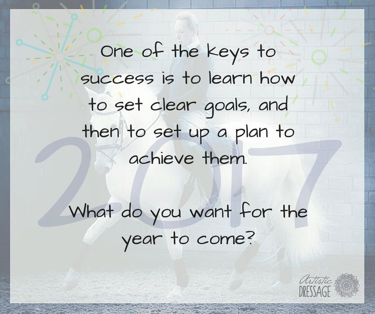 What are your riding goals for 2017? Come join the discussion in our Facebook group: https://www.facebook.com/groups/ArtisticDressage/