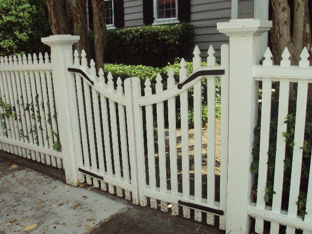 113 best images about wood fence gate on pinterest for Charleston style fence