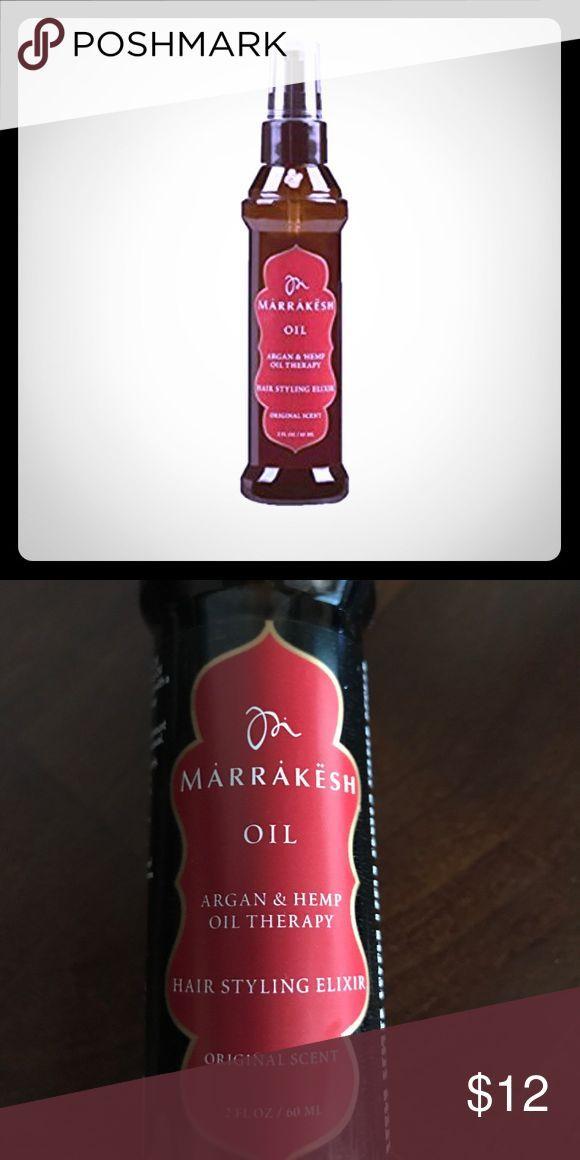 New Marrakesh Oil Arian Hemp Therapy Elixir 2oz Brand New Hair Styling Elixi Hair Conditioner Hair Styles Oils