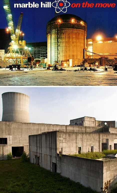 Marble Hill Nuclear Power Station, Indiana, USA