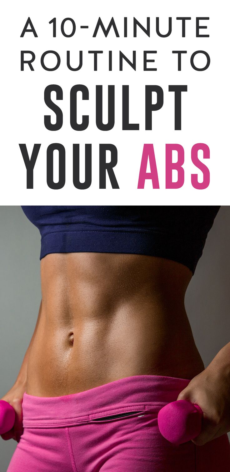 A 10-Minute Routine to Sculpt Your Abs