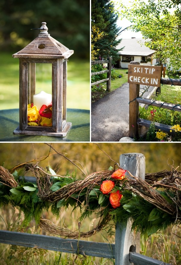 Fall Wedding In Colorado From IN Photography   Style Me Pretty
