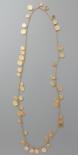 coin necklace - wow! i really want something like this!