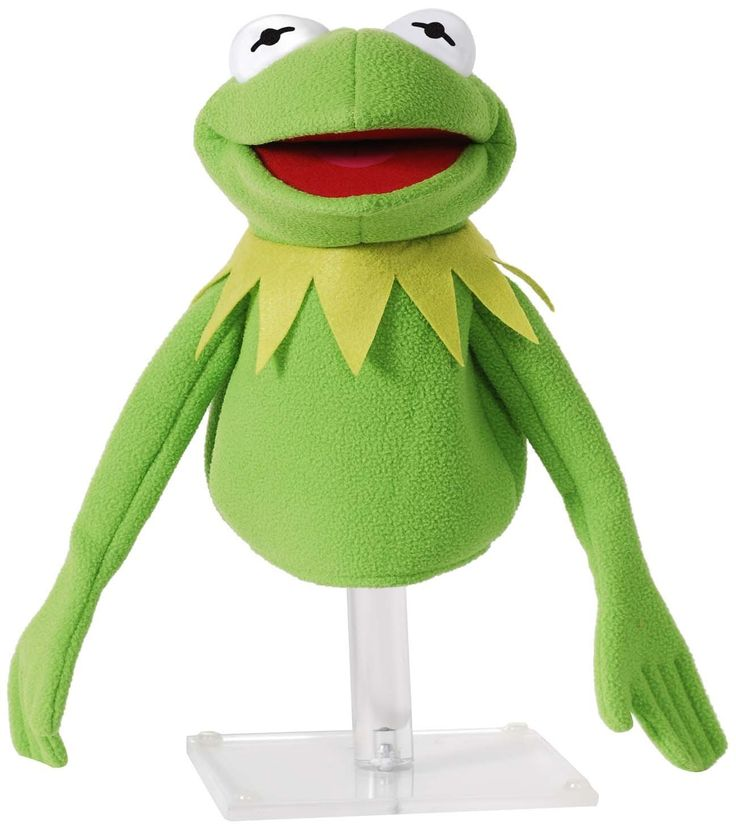 A perfect hand puppet for all Muppets fans from kids to adults! Start practicing your Kermit voice.
